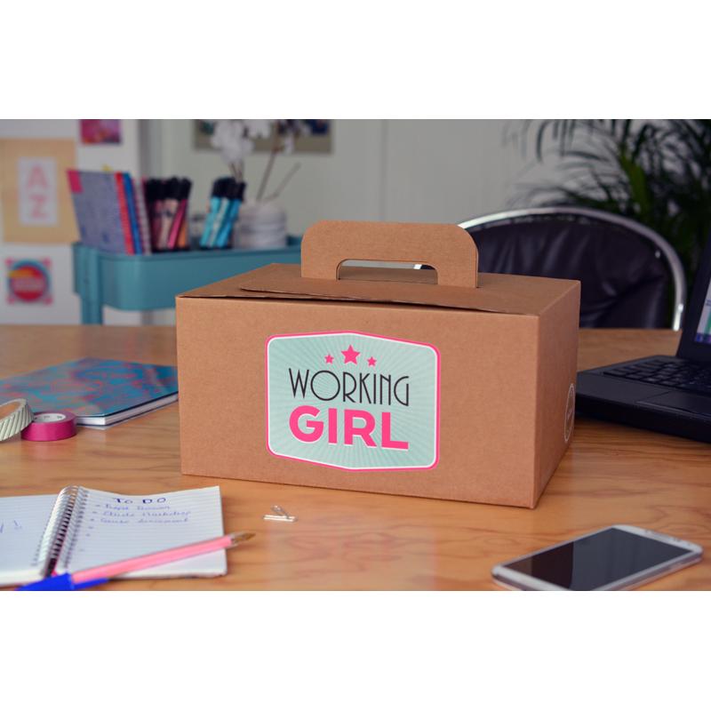 coffret cadeau working girl un cadeau pour les femmes actives. Black Bedroom Furniture Sets. Home Design Ideas