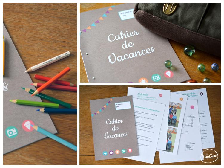 Cahier de Vacance pour cadeau maitresse par The PopCase