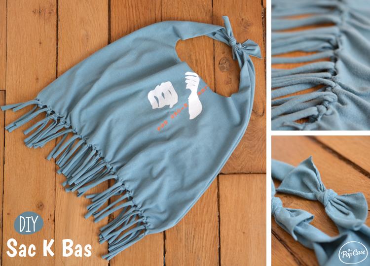 Faire un sac avec un tshirt - Comment fabriquer un sac a main ...