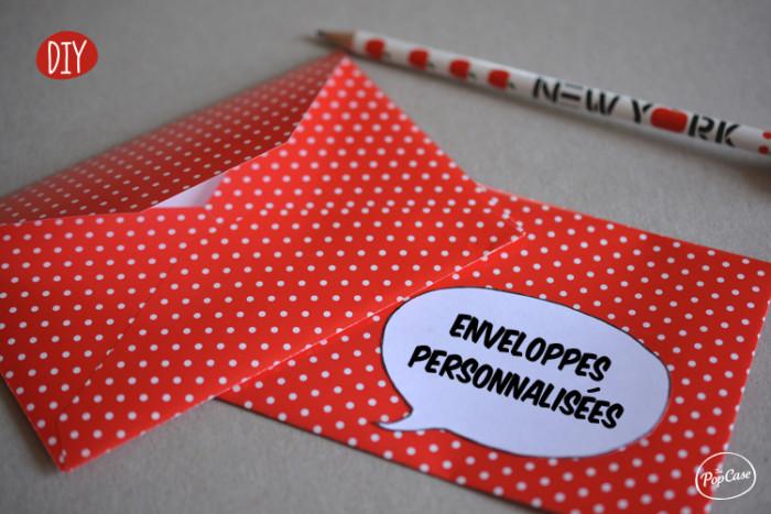 DIY - Enveloppes Personnalisées