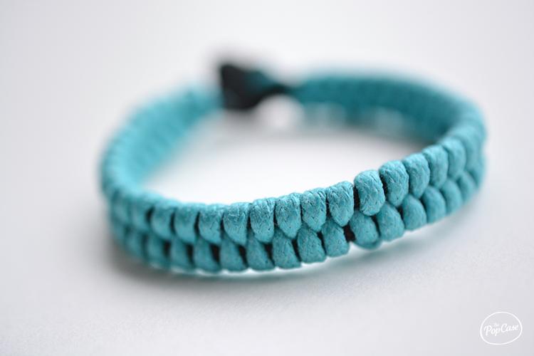 diy - faire un bracelet tressé pour homme avec des lacets | the
