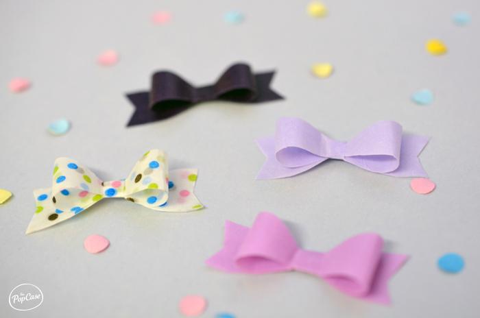 Diy printable noeud en papier noeud en ruband the popcase - Comment faire un joli noeud ...