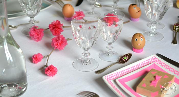 D coration pour faire une table de f te pop et color e for Cuillere pour decorer les assiettes