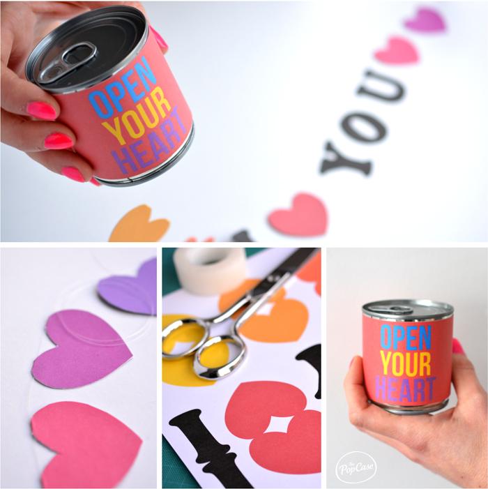 Diy cadeau saint valentin boite i love you the popcase - Cadeau fait main pour son amoureux ...