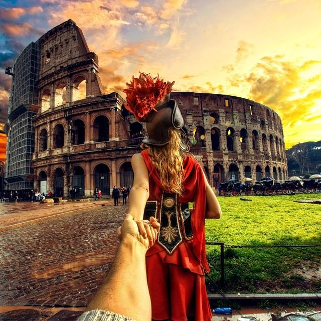 Follow me to Rome
