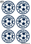 Printable Sous Verres World Cup 2014