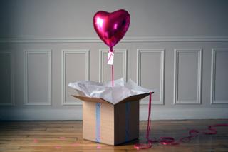Ballon Cadeau Saint Valentin
