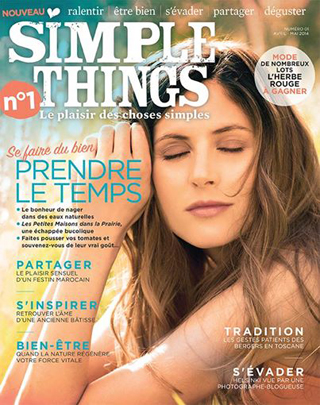 Couverture simple things