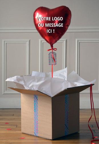 Ballon Helium avec marquage