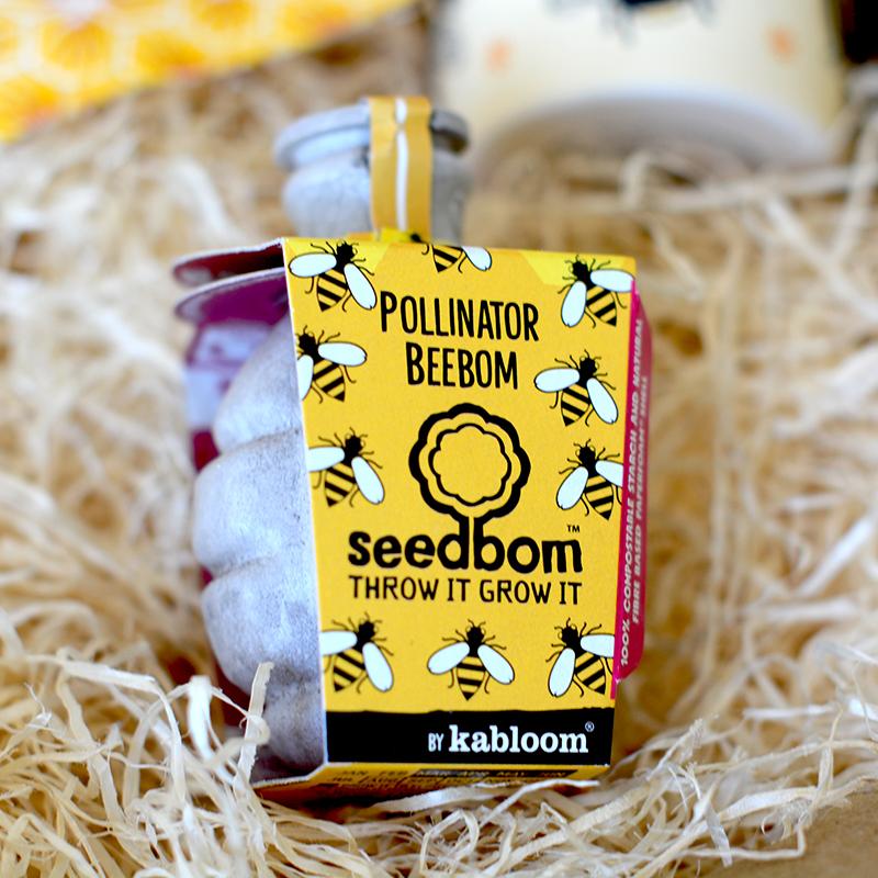 Coffret Cadeau - Bee Happy - Bombe à Graines