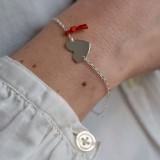 Carte Bijou - Bracelet Coeur