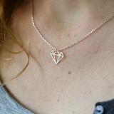 Carte Bijou - Collier Diamonds