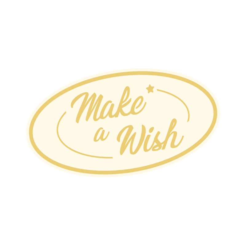 Sticker coffret cadeau - Make a wish - The PopCase