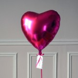 Ballon Cadeau Coeur Rose Fuschia - GP - The PopCase