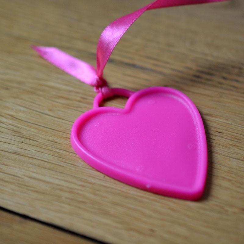 Ballon Cadeau Coeur Rose Fuschia - Poids - The PopCase