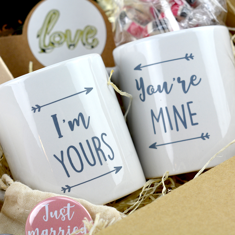 Coffret Cadeau Mariage - set 2 mug - The PopCase