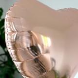Ballon Cadeau - Coeur Rose Gold