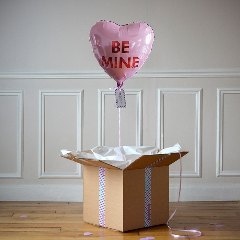 Ballon Cadeau Coeur Be Mine - The PopCase
