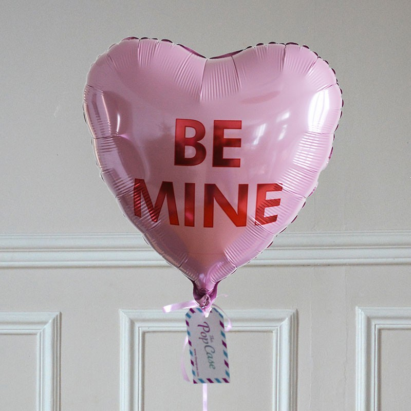 Ballon Cadeau - Coeur Be Mine