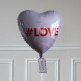 Ballon Cadeau - Coeur LOVE
