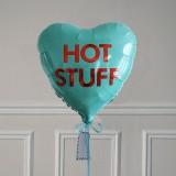 Ballon Cadeau - Coeur Hot Stuff