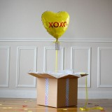 Ballon Cadeau Coeur XOXO - The PopCase