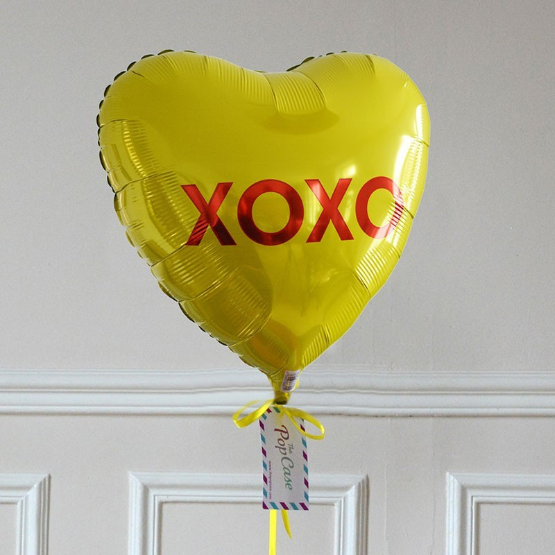 Ballon Cadeau Coeur XOXO - GP - The PopCase