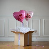 DUO Ballon Cadeau - Love Heart
