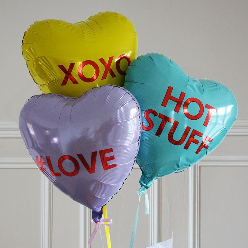 Bouquet Ballon Cadeau - Love Heart