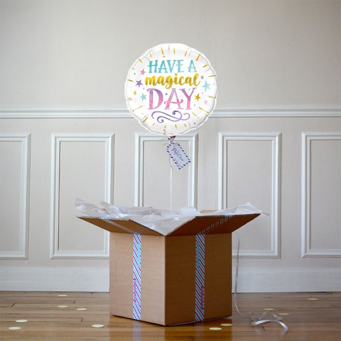 Ballon Cadeau Have a Magical Day - The PopCase