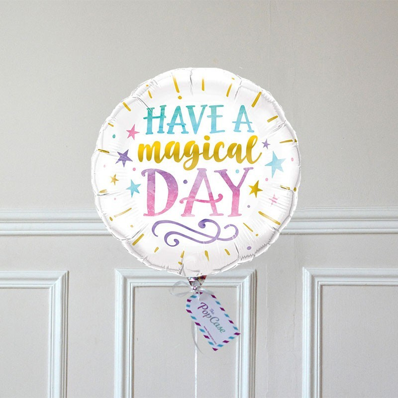 Ballon Cadeau - Have A Magical Day