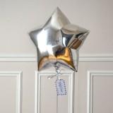 Ballon Cadeau Etoile Argent - GP - The PopCase