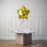 Ballon Cadeau Etoile Dorée - The PopCase