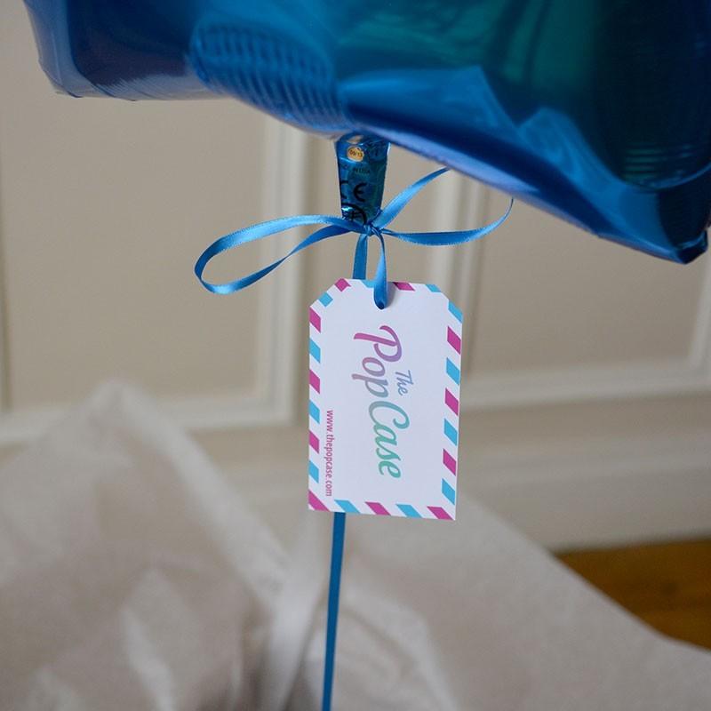 Ballon Cadeau - Etoile Bleue