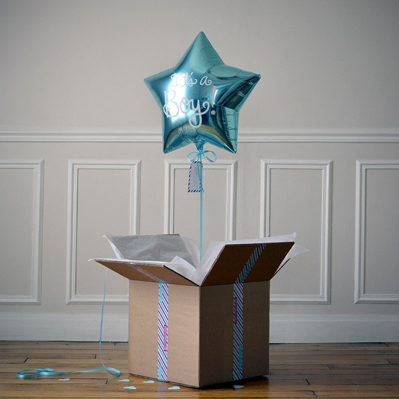 Ballon Cadeau Naissance Garçon