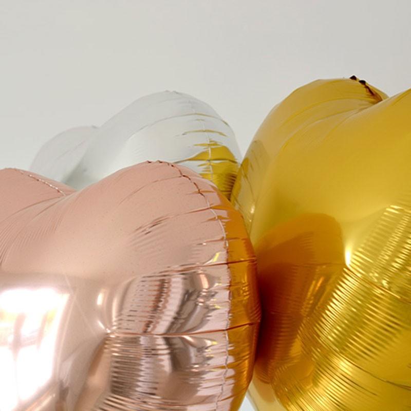 Bouquet Ballon Cadeau Trois Ors - GP - The PopCase