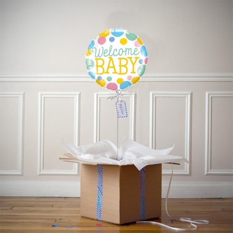 Ballon Cadeau - Welcome Baby
