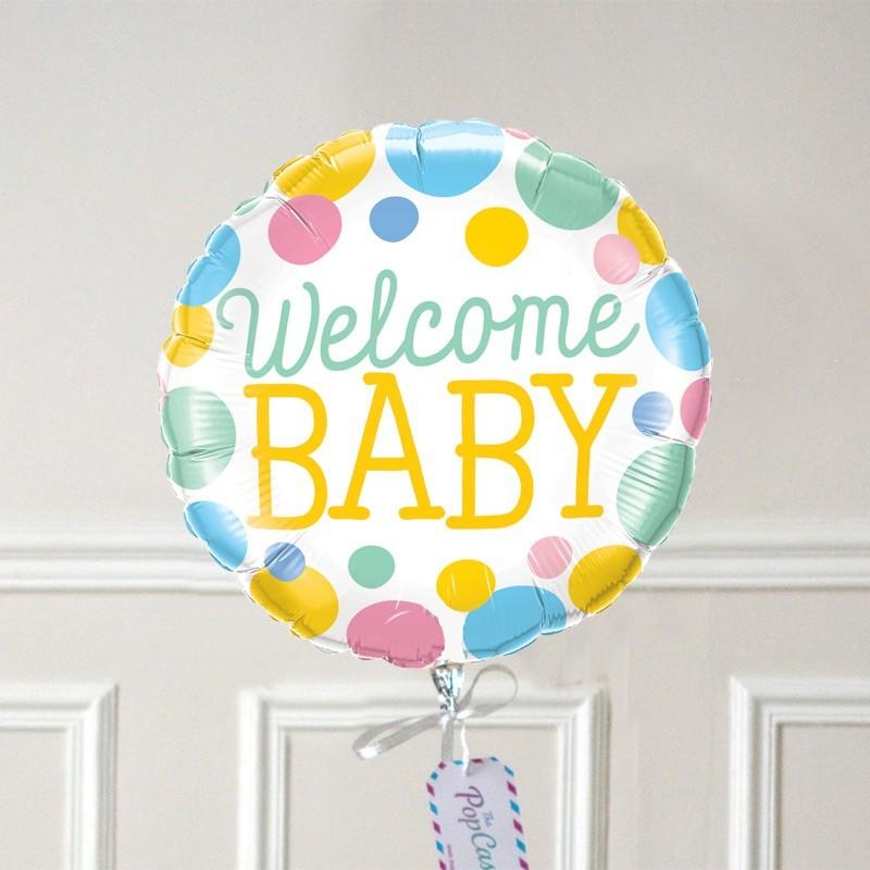 ballon cadeau naissance livr gonfl l 39 h lium pour une surprise. Black Bedroom Furniture Sets. Home Design Ideas