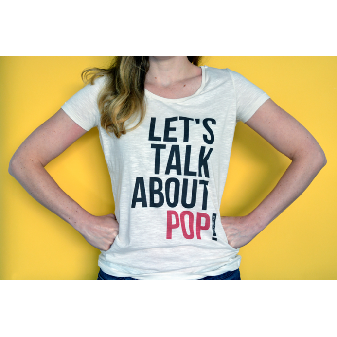 "T-Shirt ""Let's Talk About Pop"""