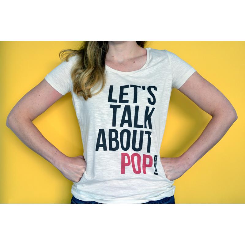 """T-Shirt """"Let's Talk About Pop"""""""