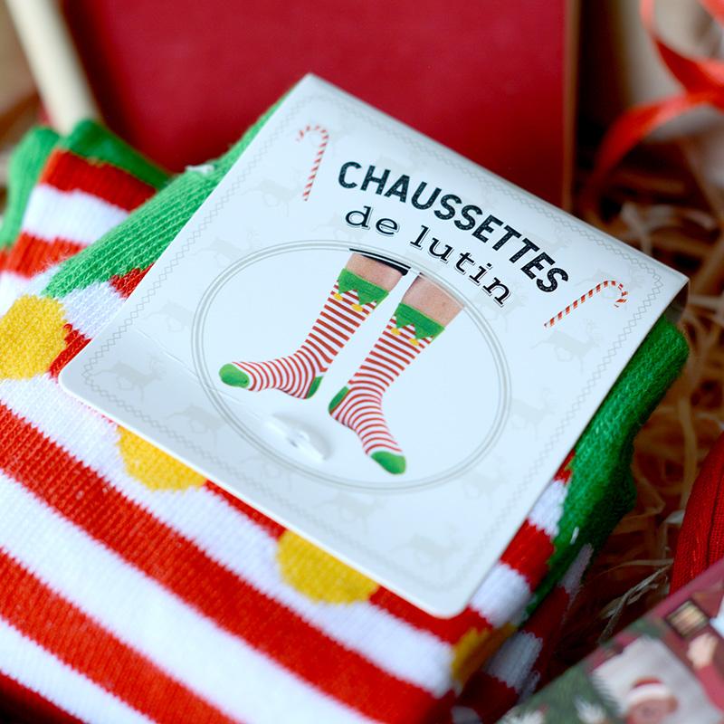 Box Surprise - En Attendant Noël - Chaussette