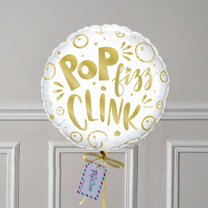 Ballon Cadeau Pop Fizz Clink - The Pop Case