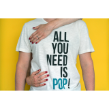 "T-Shirt ""All You Need Is Pop"""