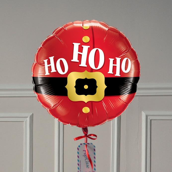 Ballon Cadeau - HoHoHo