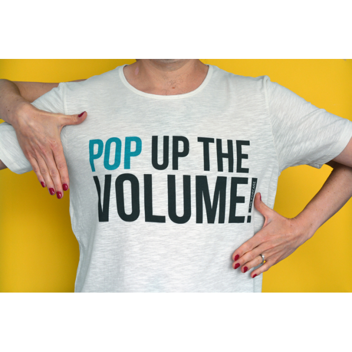 "T-Shirt ""Pop Up The Volume"""