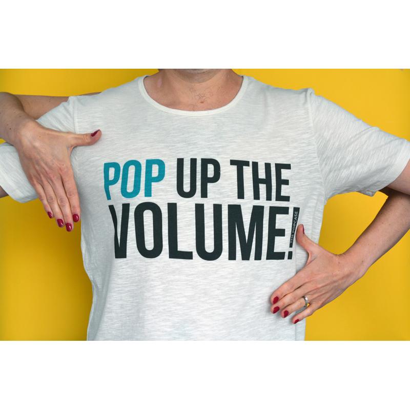 """T-Shirt """"Pop Up The Volume"""""""