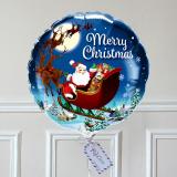 Ballon Cadeau - Merry Christmas
