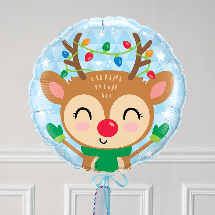 Ballon Cadeau - Renne - The PopCase