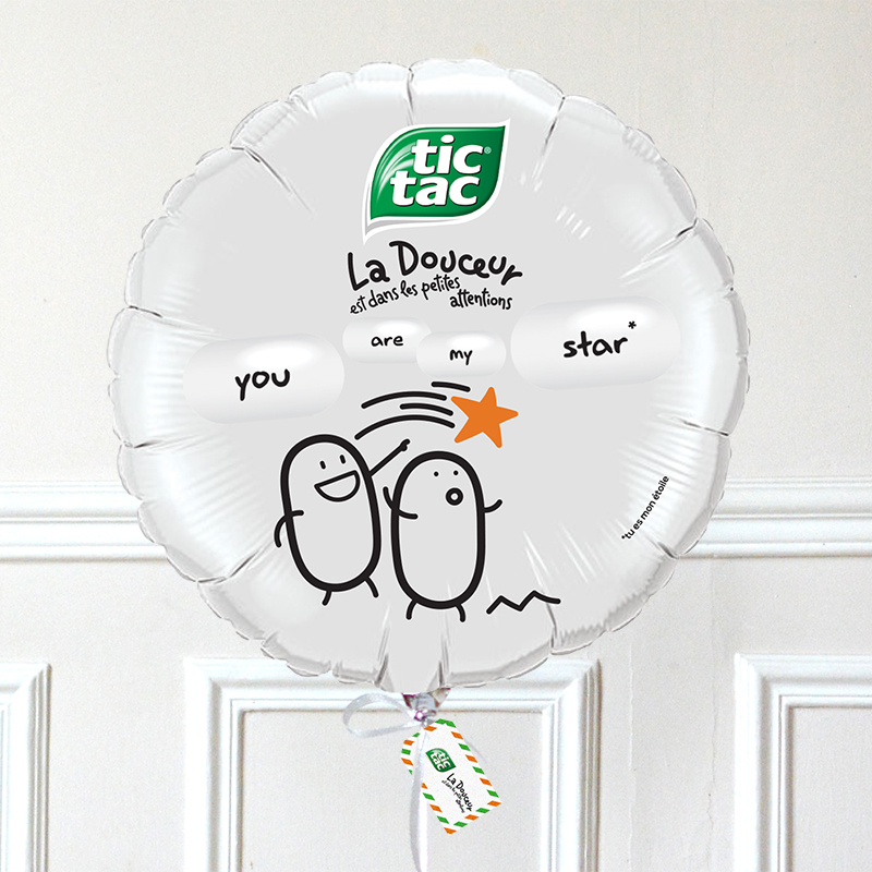 Ballon Tic Tac - You Are My Star