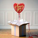 Ballon Cadeau I Love You - The PopCase